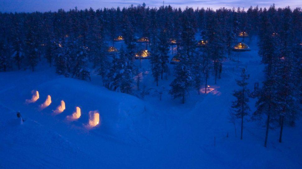 Kakslauttanen Arctic Resort Snow Igloos