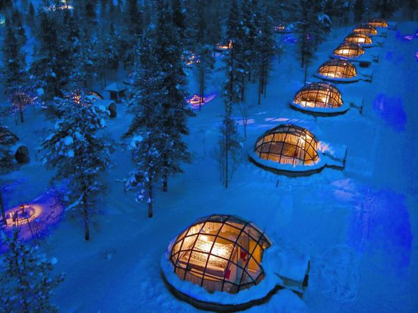 Kakslauttanen Arctic Resort View