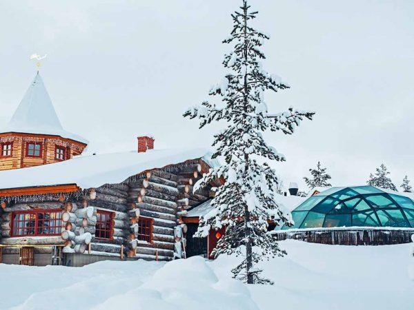 Kakslauttanen Arctic Resort West Village Aurora Restaurant