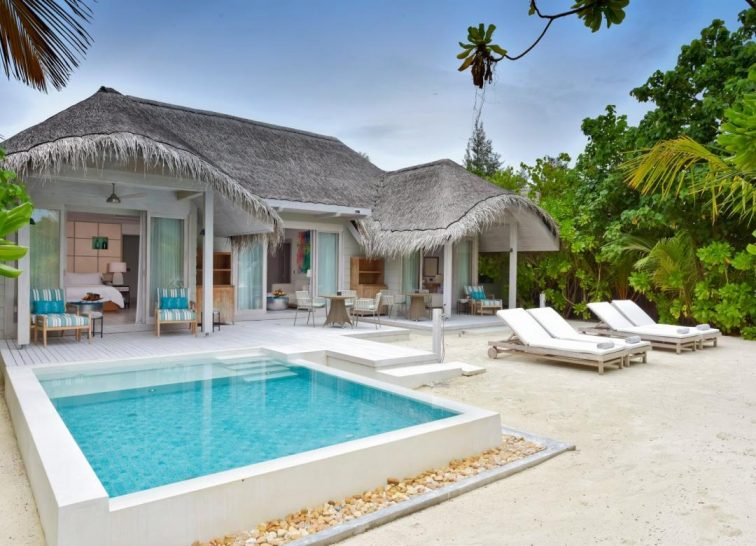 Kanuhura Maldives Grand Beach Pool Villa