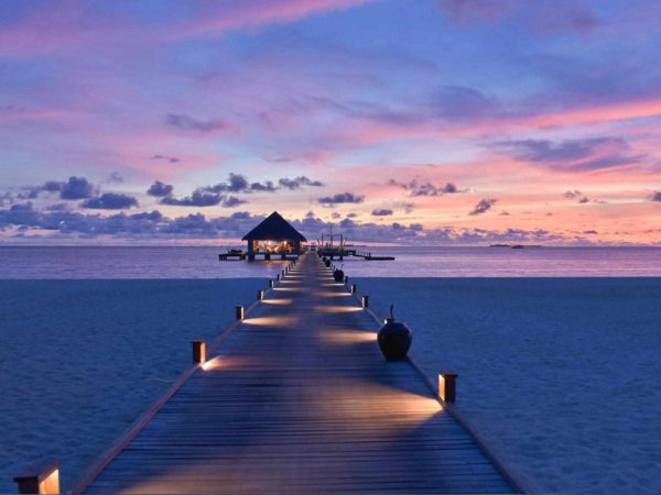 Kanuhura Maldives Sunset View