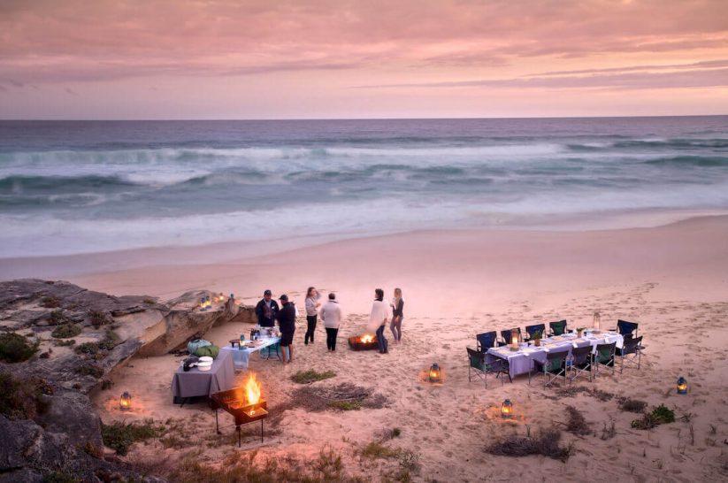 Lekkerwater Beach Lodge at De Hoop Main Lodge Beach Dining Picnic