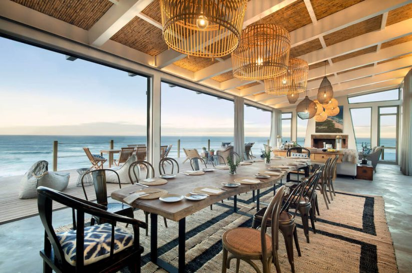 Lekkerwater Beach Lodge at De Hoop Main Lodge Dining