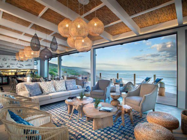Lekkerwater Beach Lodge at De Hoop Main Lodge Lounge