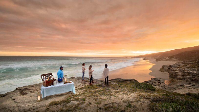 Lekkerwater Beach Lodge at De Hoop Sundowners on Beach