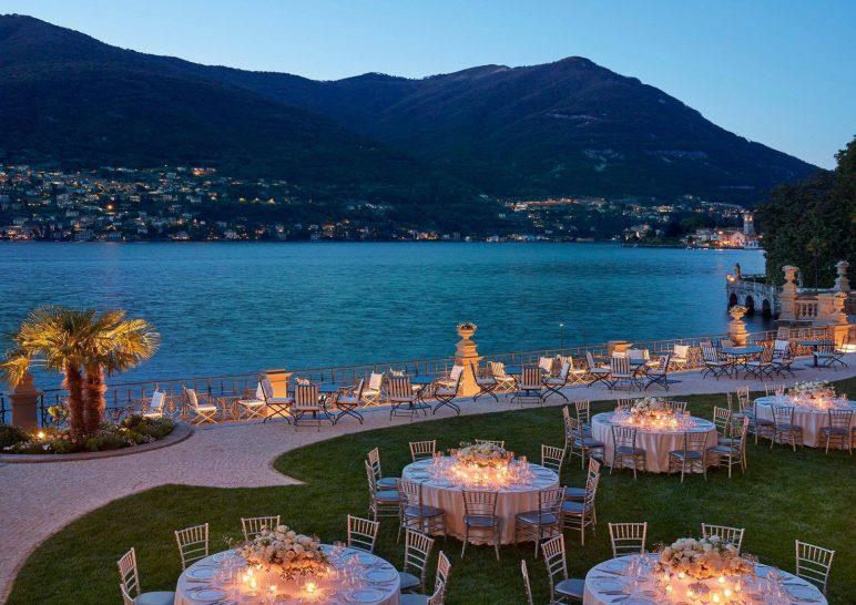 Mandarin Oriental Lago di Como Como Bar and Bistrot Sunset