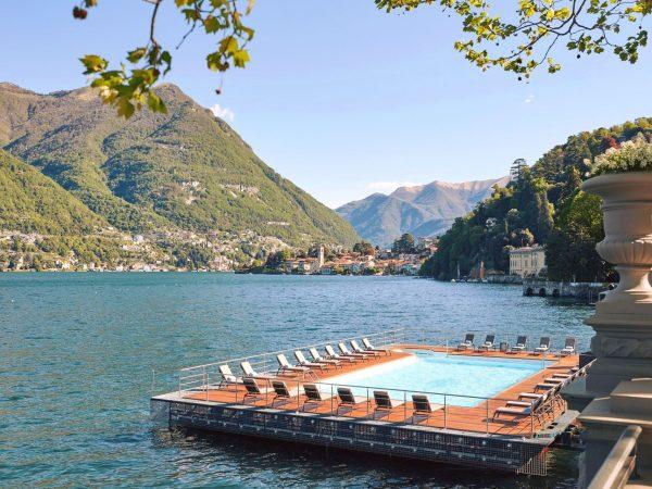 Mandarin Oriental Lago di Como Floating Pool