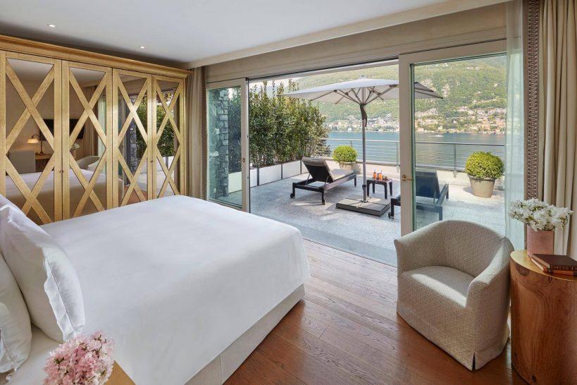 Mandarin Oriental Lago di Como Grand Vista Lago Suite Bedroom