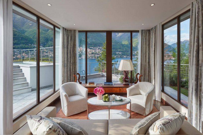 Mandarin Oriental Lago di Como La Residenza Living Room