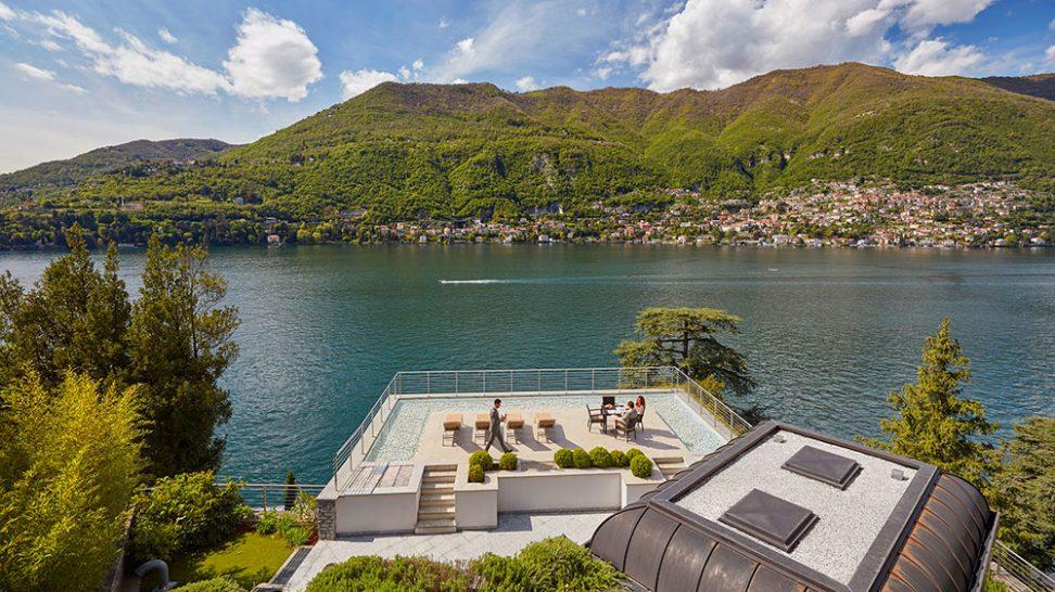 Mandarin Oriental Lago di Como La Residenza Terrace
