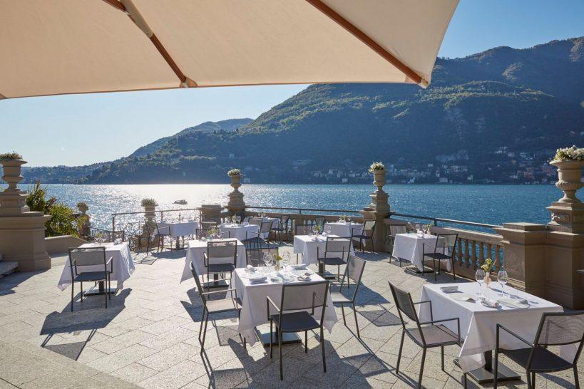 Mandarin Oriental Lago di Como Laria Restaurant Terrace