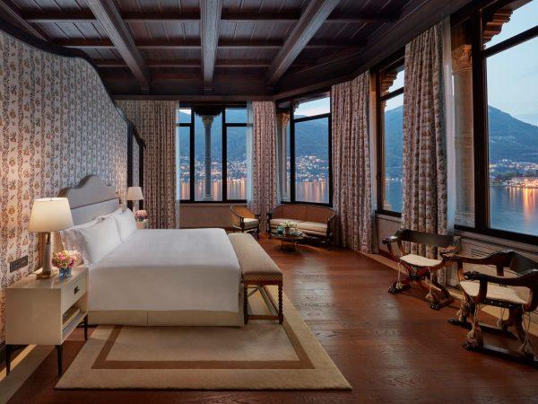 Mandarin Oriental Lago di Como Penthouse Suite Bedroom