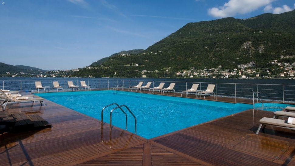 Mandarin Oriental Lago di Como Pool
