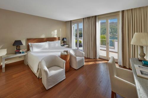 Mandarin Oriental Lago di Como Presidential Suite Bedroom