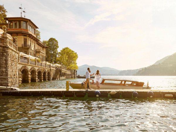Mandarin Oriental Lago di Como Riva Boats