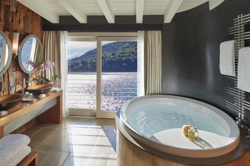 Mandarin Oriental Lago di Como Villa Della Rocca Bathroom