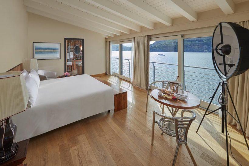 Mandarin Oriental Lago di Como Villa Della Rocca Bedroom