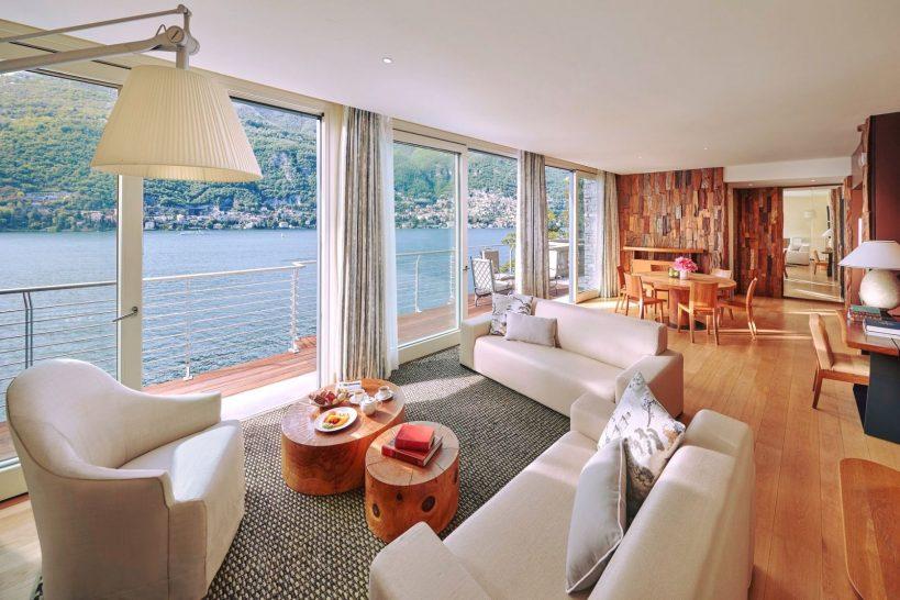 Mandarin Oriental Lago di Como Villa Della Rocca Living Room