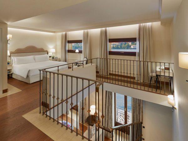 Mandarin Oriental Lago di Como Vista Lago Duplex Suite Bedroom