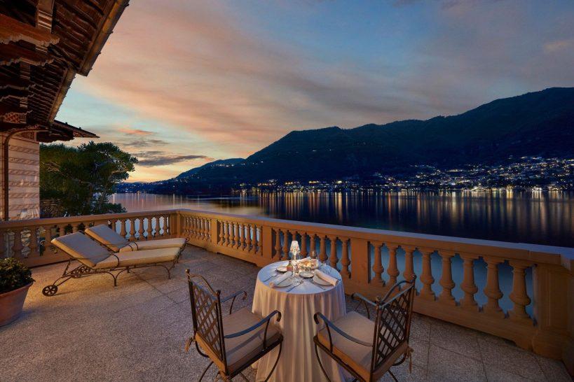 Mandarin Oriental Lago di Como Vista Lago Duplex Terrace
