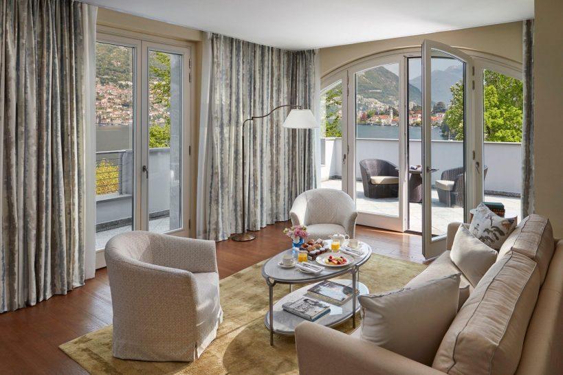 Mandarin Oriental Lago di Como Vista Lago Suite Living Room