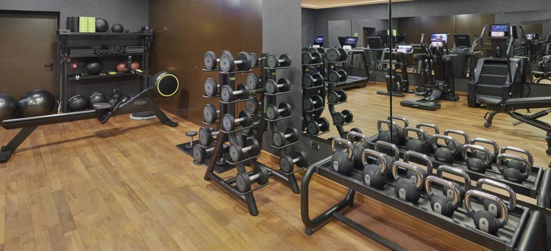 Mandarin Oriental Lago di Como gym