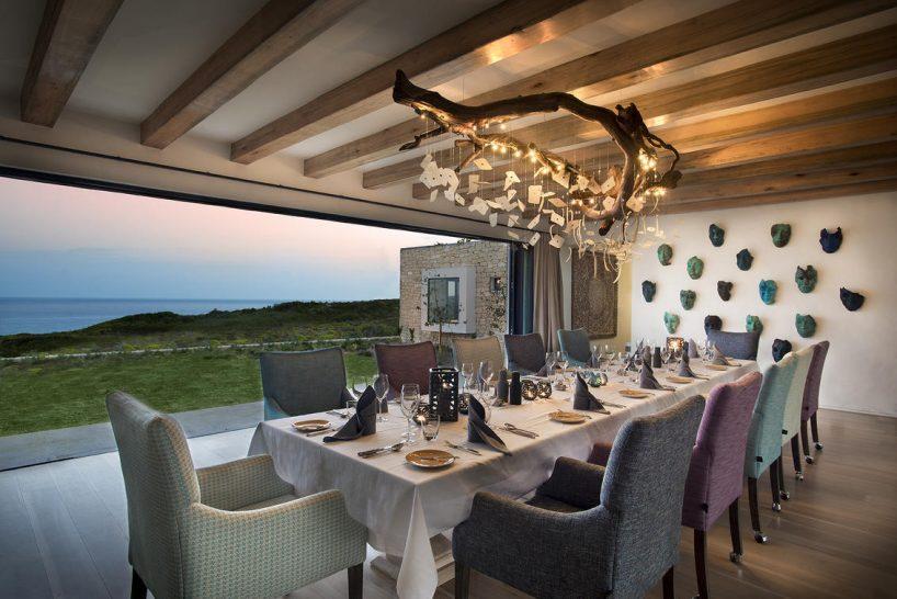 Morukuru Ocean House Ocean House Dining