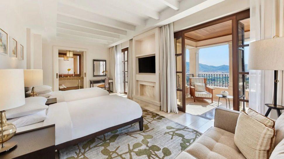 Park Hyatt Mallorca 2 Twin Beds Valley View