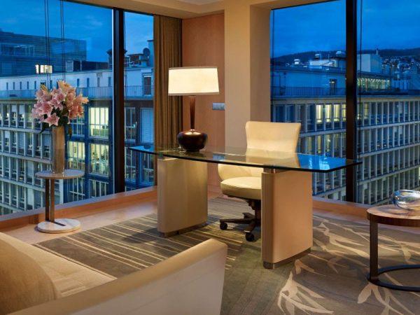 Park Hyatt Zurich Hotel View