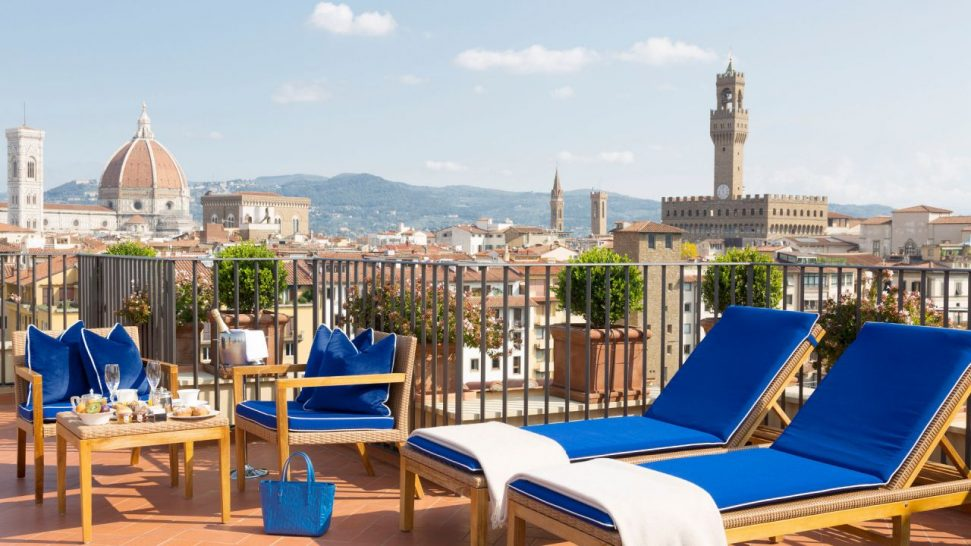 Portrait Firenze Rooftop Terrace Suite River View