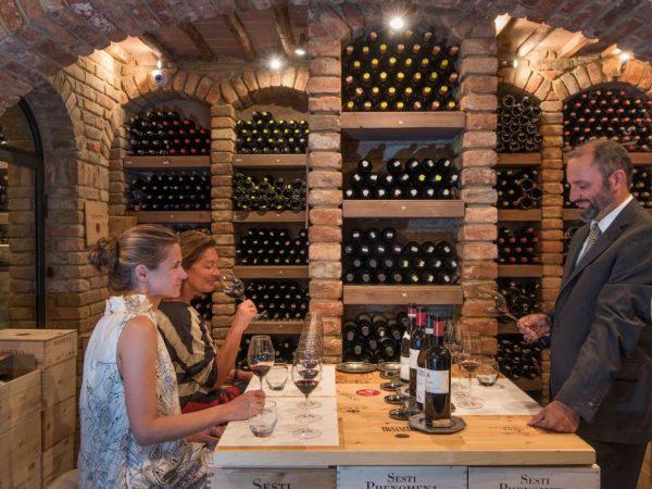 Relais Borgo Santo Pietro Wine Cellar