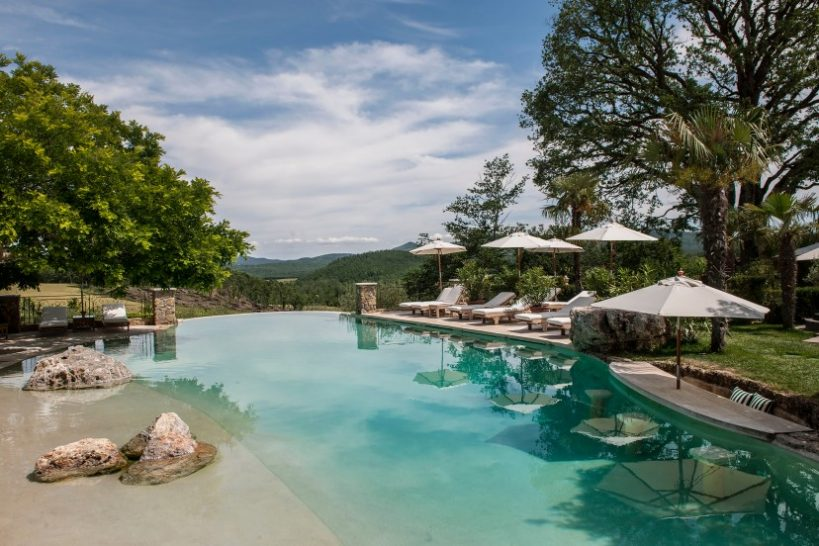 Relais Borgo Santo Pietro pool
