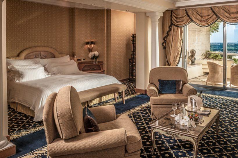 Rome Cavalieri A Waldorf Astoria Hotel Alcove Suite