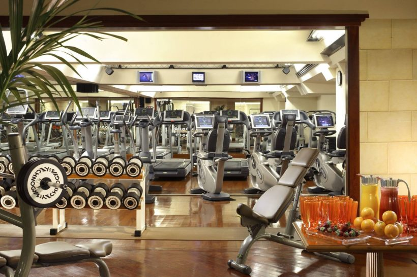 Rome Cavalieri A Waldorf Astoria Hotel Fitness