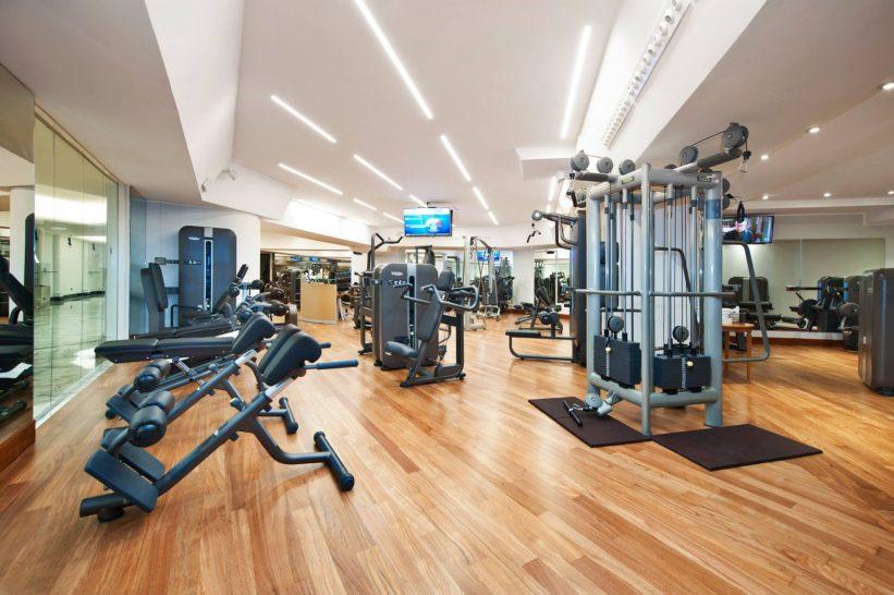 Rome Cavalieri A Waldorf Astoria Hotel Gym
