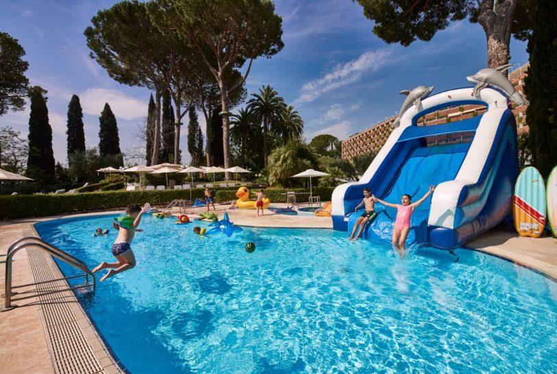 Rome Cavalieri A Waldorf Astoria Hotel Kids Pool