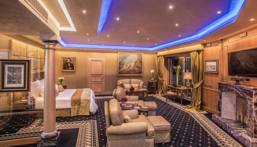 Rome Cavalieri A Waldorf Astoria Hotel Park Suite