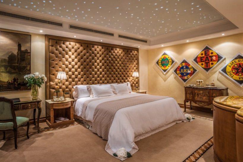 Rome Cavalieri A Waldorf Astoria Hotel Planetarium Suite