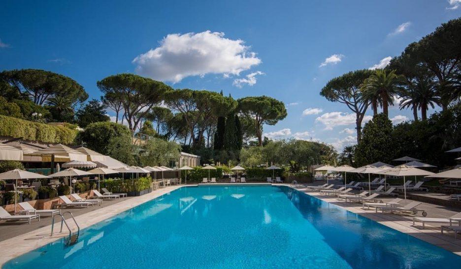Rome Cavalieri A Waldorf Astoria Hotel Pool