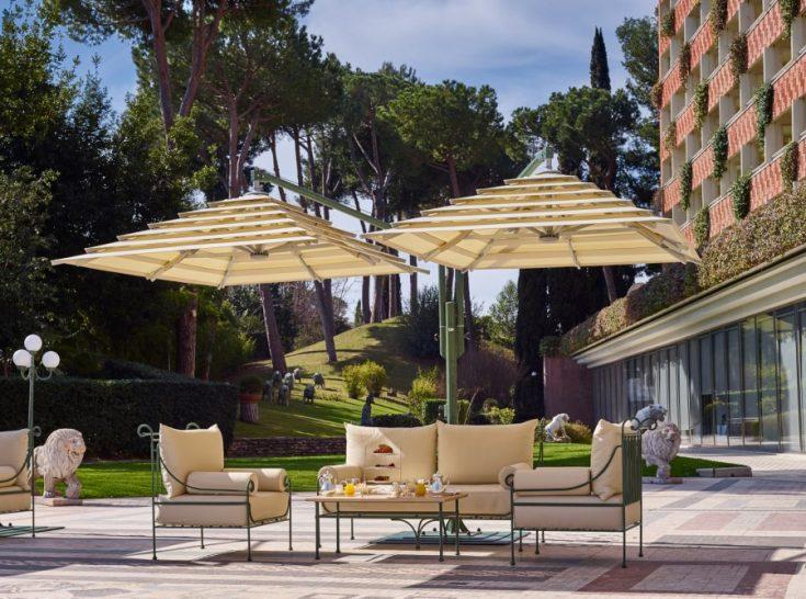 Rome Cavalieri A Waldorf Astoria Hotel Tiepolo Lounge and Terrace
