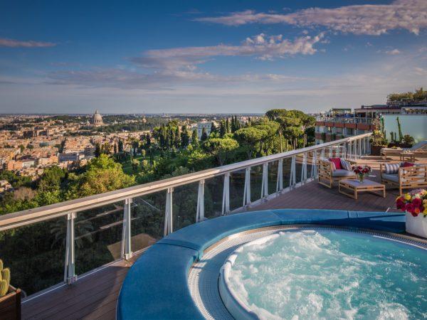 Rome Cavalieri, A Waldorf Astoria Resort Penthouse Suite