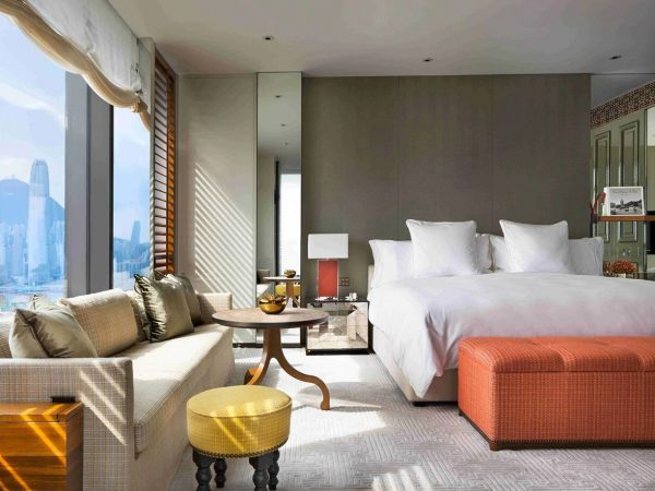 Rosewood Hong Kong Grand Harbour Corner Suite