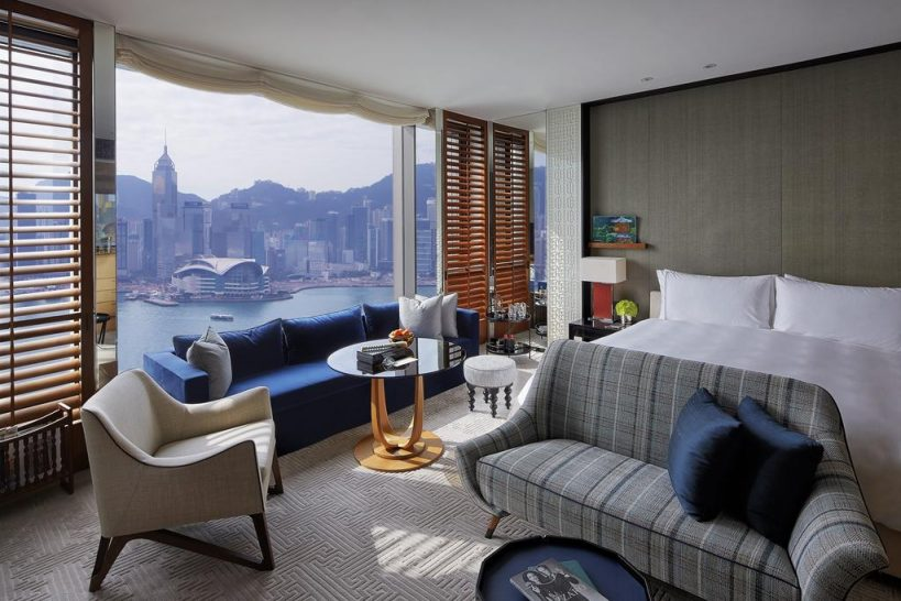 Rosewood Hong Kong Grand Harbour View Room