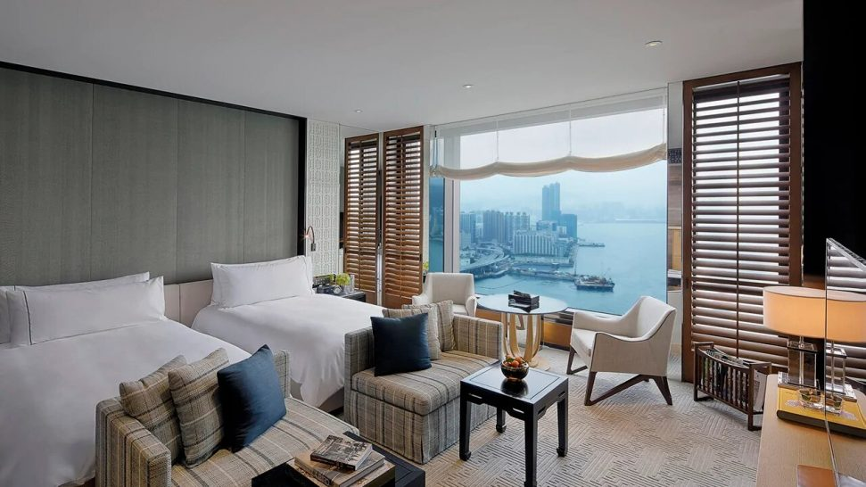 Rosewood Hong Kong Harbour View Room
