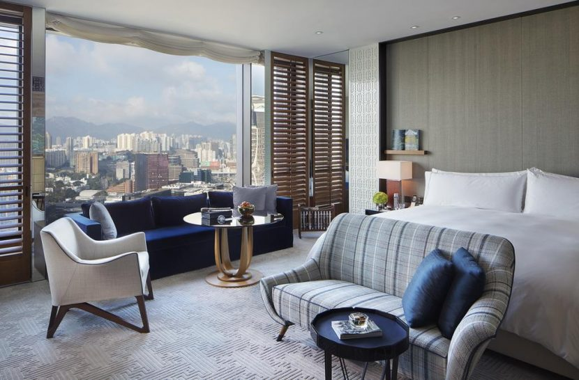 Rosewood Hong Kong Kowloon Peak View Room