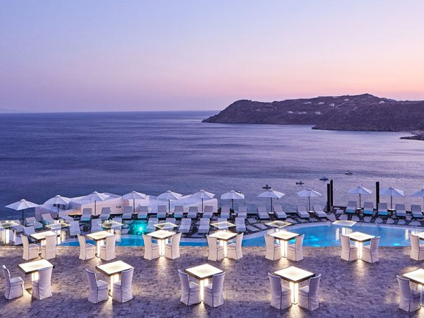 Royal Myconian Resort & Thalasso Spa Center Sunset Terrace