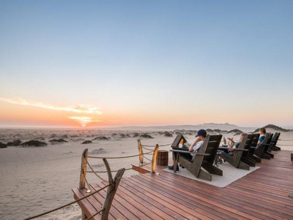 Shipwreck Lodge Skeleton Coast Sunset View