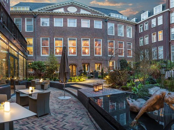 Sofitel Legend The Grand Amsterdam Courtyard