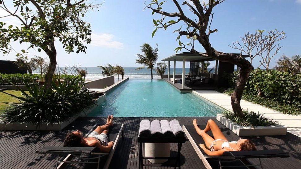 Soori Bali ocean pool villa deck