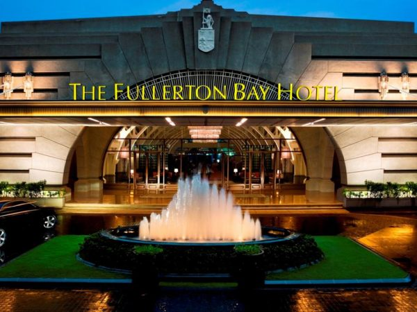 The Fullerton Bay Hotel Exterior